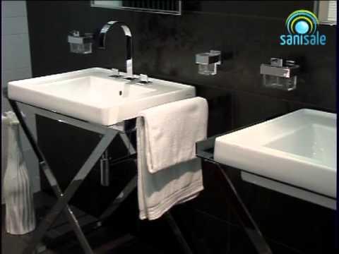 Sphinx serie wastafel onderbouwerk cm youtube