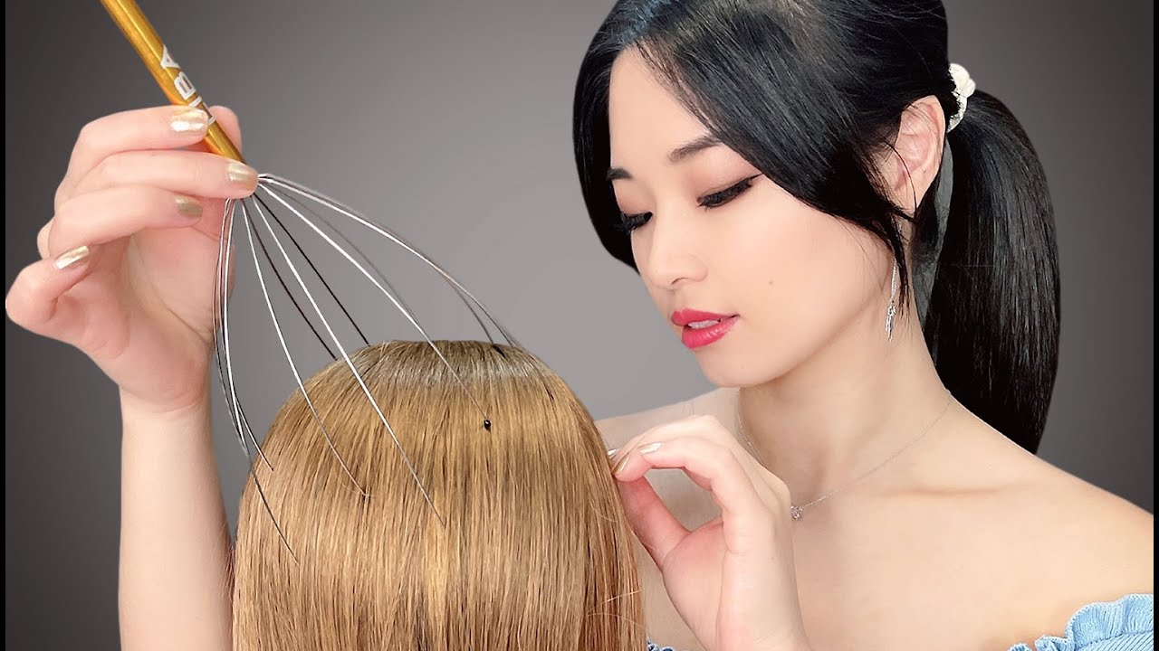 Download [ASMR] Realistic Scalp and Head Massage
