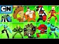 Ben 10 | Every Ben Alien Transformation | Cartoon Network