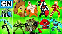 Every Ben Alien Transformation | Ben 10 | Cartoon Network