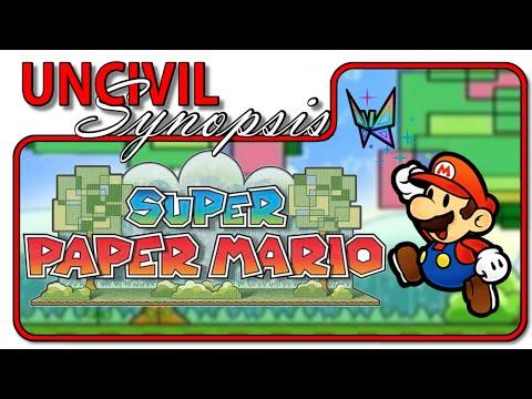Super Paper Mario - Uncivil Synopsis