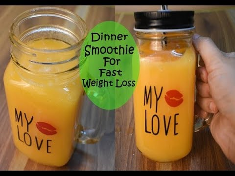 Weight Loss Dinner Smoothie Recipe Detox Smoothie For Fast Weight Loss Lose 2Kg 3K In A Week