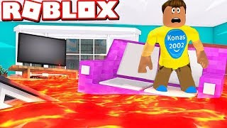 Roblox The Floor Is Lava ! || Roblox Gameplay || Konas2002