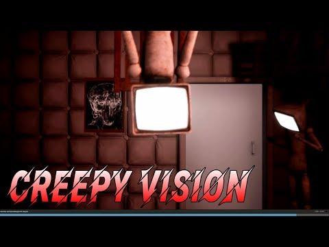 Почувствуй себя психом, Симулятор психопата! Creepy Vision прохождение Horror Games C.v.