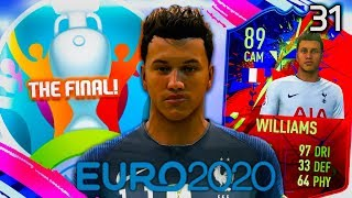 THE EURO 2020 FINAL! | FIFA 19 My Player Career Mode #31