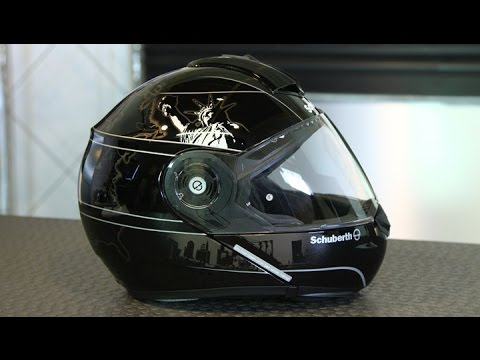 schuberth c3 pro helmet motorcycle superstore youtube. Black Bedroom Furniture Sets. Home Design Ideas