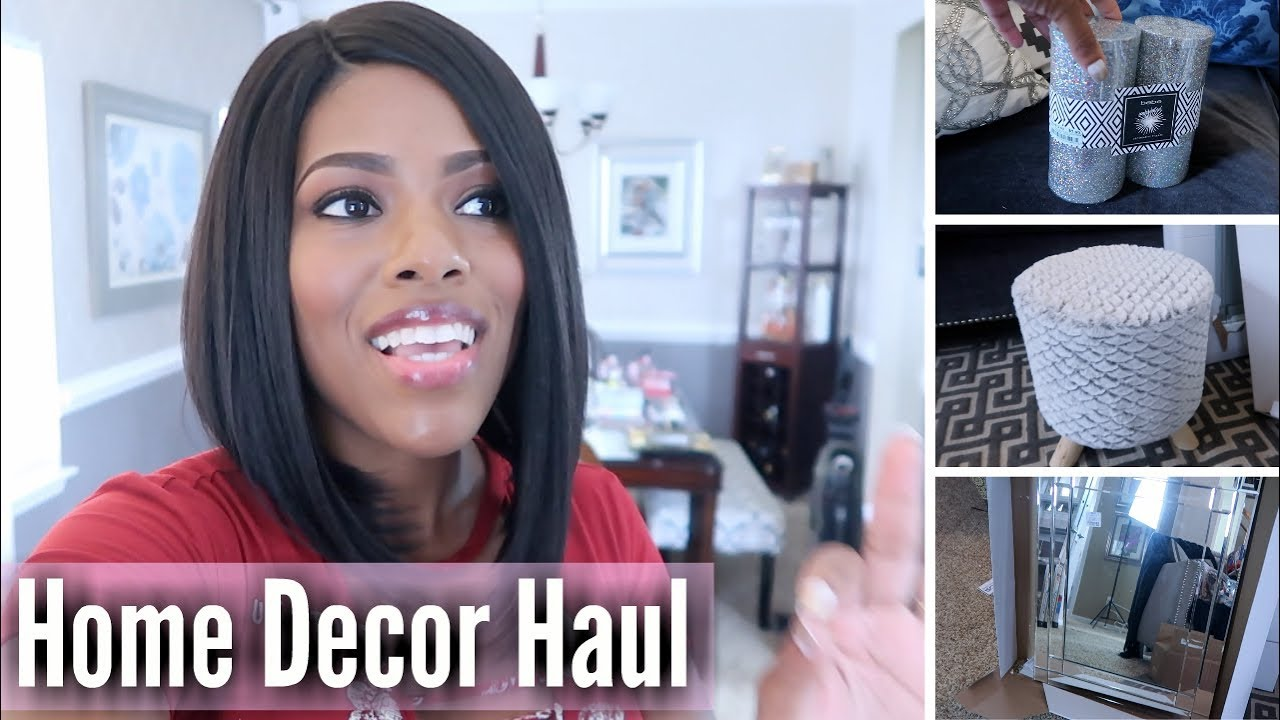 amazon home decor haul glam home home decor haul finds pr haul 10342