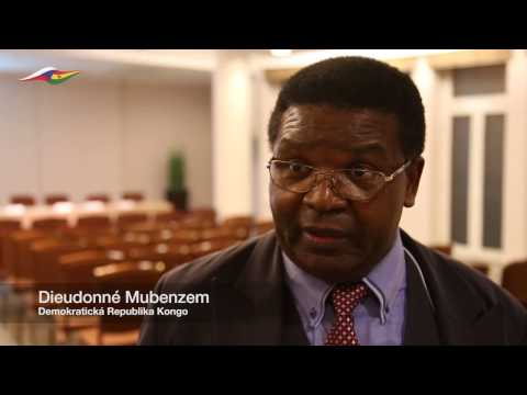 Interview with Dieudonné Mubenzem from Democratic Republic of Congo African Trust 2016 Hotel Jalta