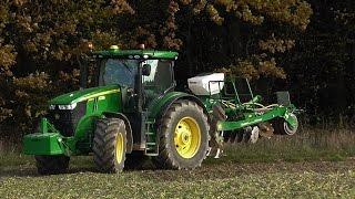 Testy John Deere 7290R + Great Plains DTX300 WANICKI AGRO - Uprawa bezorkowa 2015