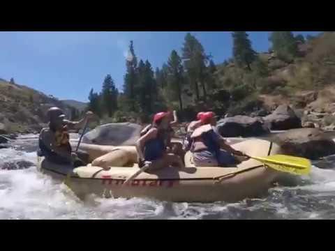 Truckee River Rafting Video 2016