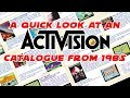 A Quick Look At An Activision Games Catalogue From 1985