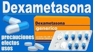DEXAMETASONA para que sirve (efectos) dolor inflamacion artritis mieloma multiple colitis