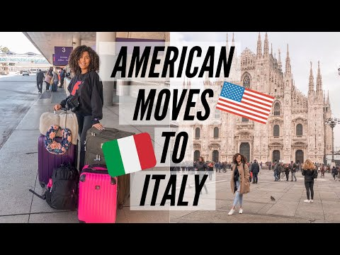 AMERICAN GIRL MOVES TO ITALY: 20 YR OLD SOLO FEMALE TRAVELER