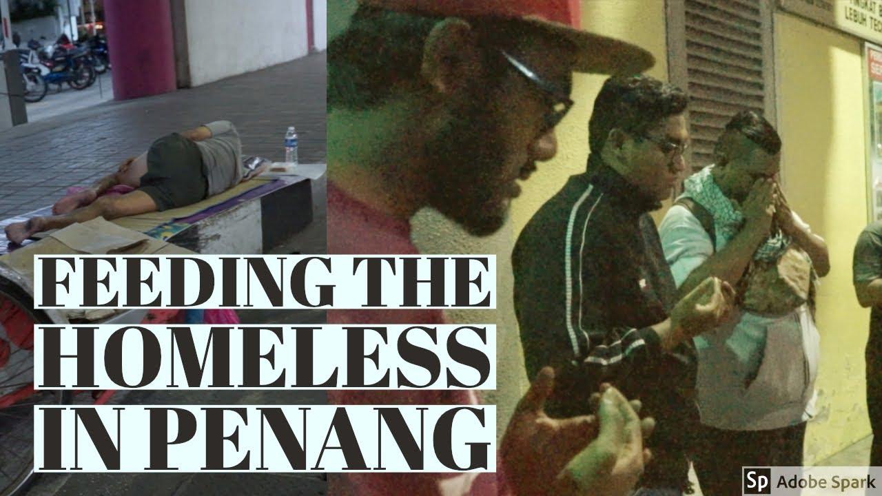 Feeding the Homeless in Penang
