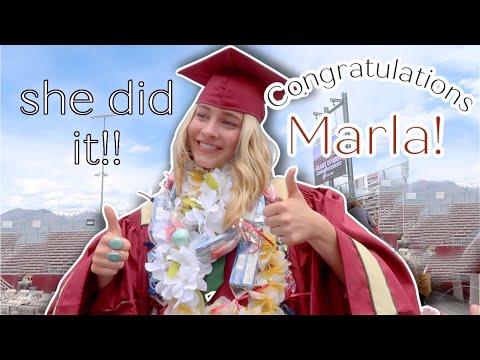 MARLAS HIGH SCHOOL GRADUATION!