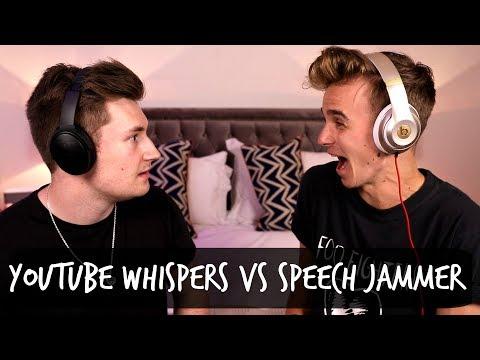 YOUTUBER WHISPERS VS SPEECH JAMMER!
