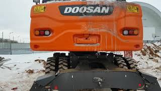 Лайтовый обзор экскаватора Doosan DX190WA