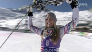 Lindsey Vonn wins first Giant Slalom - from Universal Sports