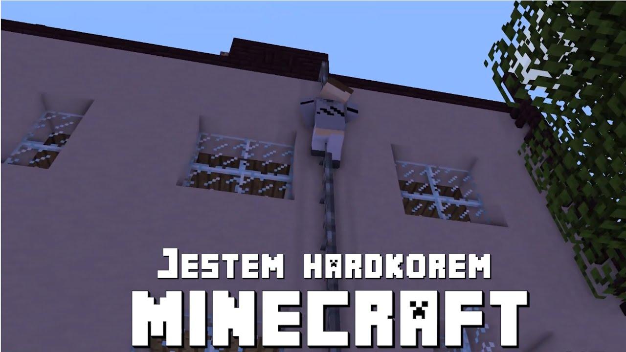 Jestem hardkorem - animacja minecraft