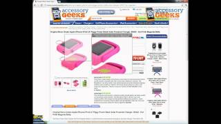 AccessoryGeeks Hot Pink Neon Green iPhone Lil Piggy Power Bank Solar Powered Charger Product Review