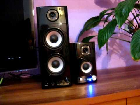 Genius Sp Hf1800a 50w Rms Speaker System Unboxing And O