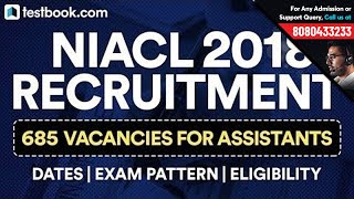 NIACL 2018 Recruitment for Assistant Out! Exam Pattern | Vacancies | Eligibility Criteria