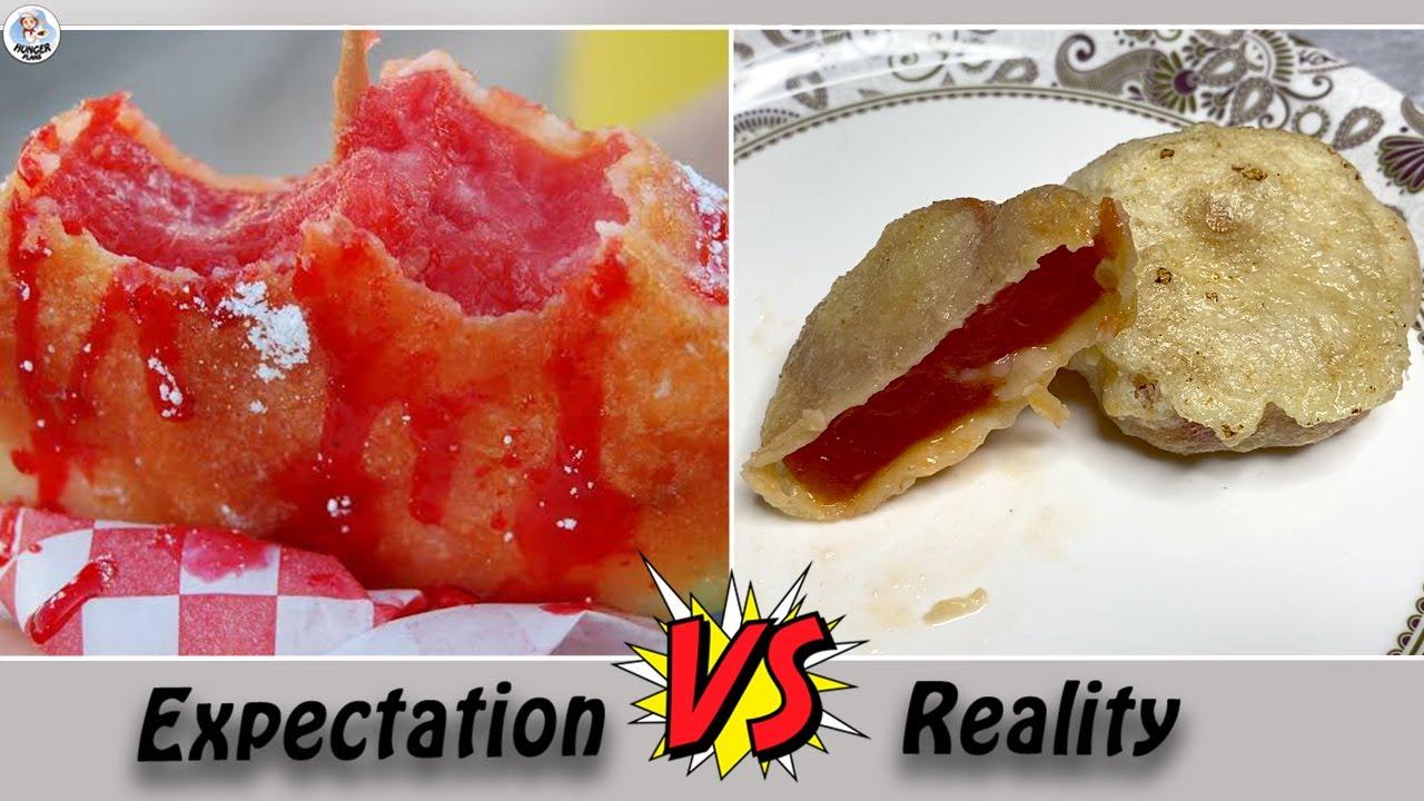 Testing Out Viral Food Hacks By 5 MINUTE CRAFTS   Trying Viral Fried Dessert Hacks   Hunger Plans