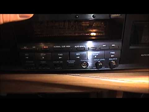 Onkyo Dual Stereo Cassette Deck Model:  TA-RW505:   BRAND NEW
