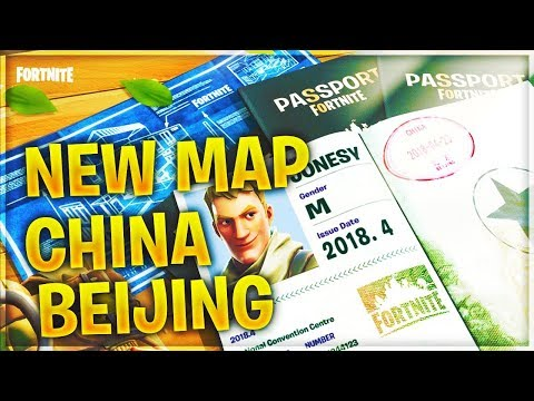 NEW MAP CHINA BEIJING // SEASON 4 UPDATE // FORTNITE BATTLE ROYALE