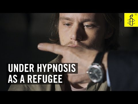 Through the eyes of a refugee - a project by Amnesty International