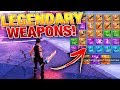 Kid gives me LEGENDARY Swords & Guns! | Fortnite Save the World (Gameplay)