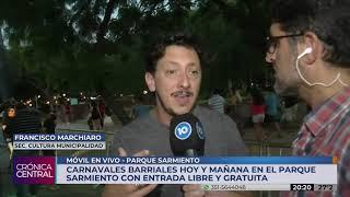 #CronicaCentral Comenzaron los Carnavales Comunitarios en la Ciudad