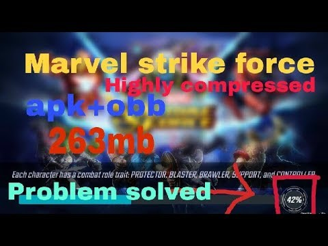 How To Download Marvel Strike Force Apk+obb For Android