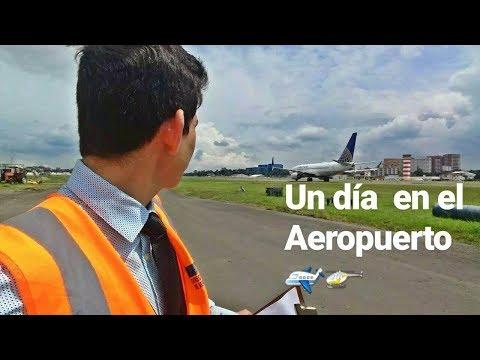 Un día en el AEROPUERTO DE GUATEMALA/