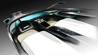 자동차 인테리어 디자인, 포토샵 렌더링(Car Interior Design & Rendering)