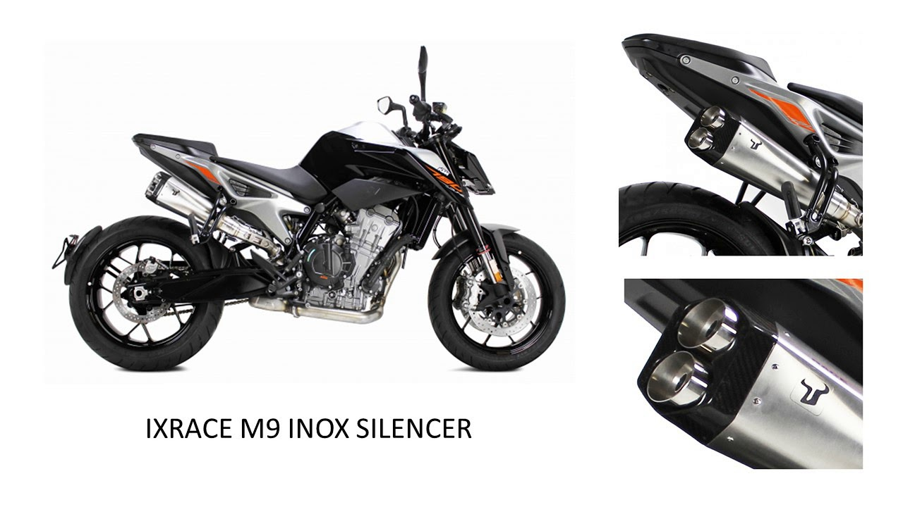 ixrace performance exhausts ktm duke 790 2018 youtube. Black Bedroom Furniture Sets. Home Design Ideas