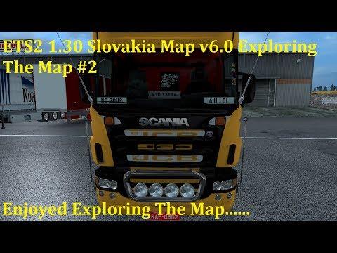 ETS2 1.30 Slovakia Map v6.0 by kapo944 Exploring The Map #2