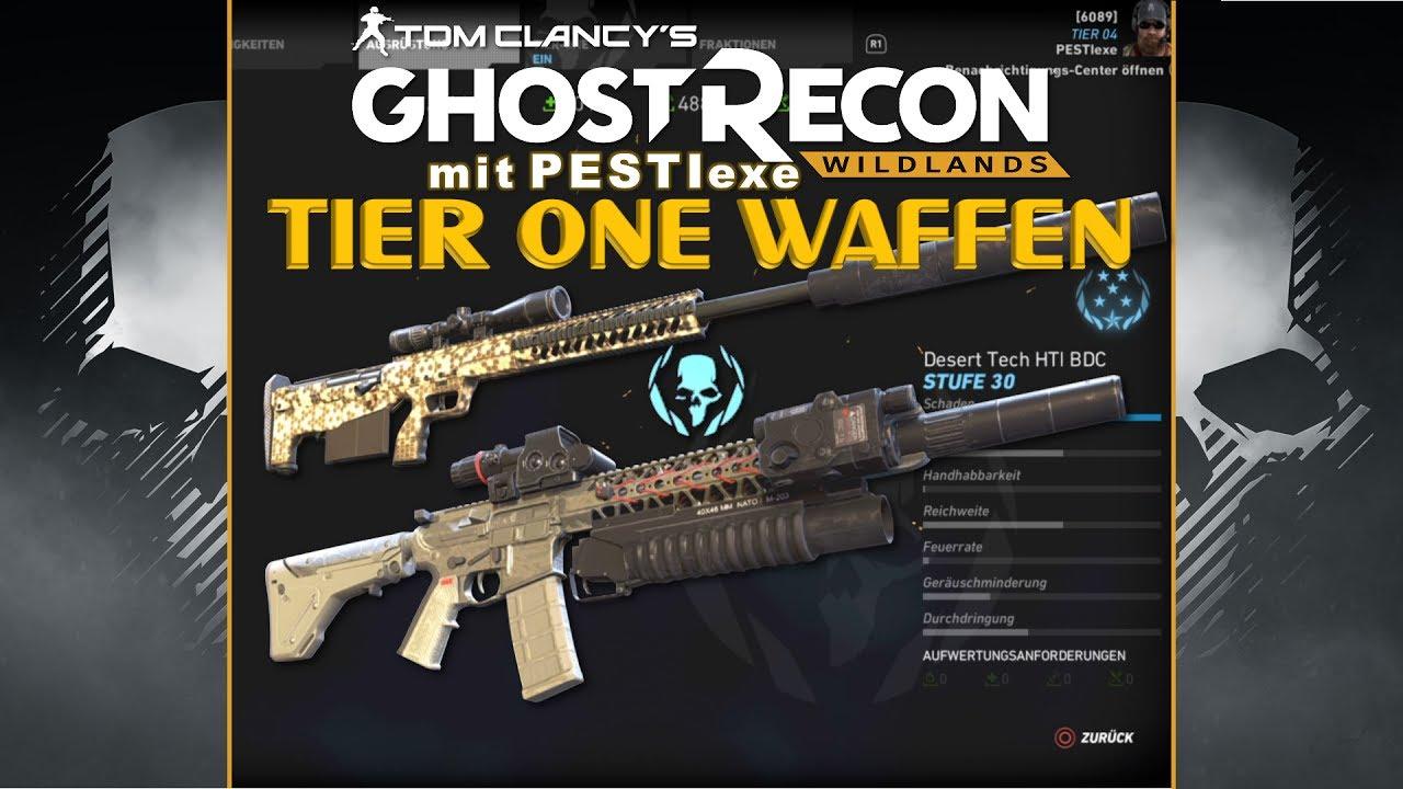 ger tier 1 waffen ghost recon wildlands youtube