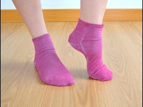 Haz tus propios calcetines de punto - DIY socks - YouTube