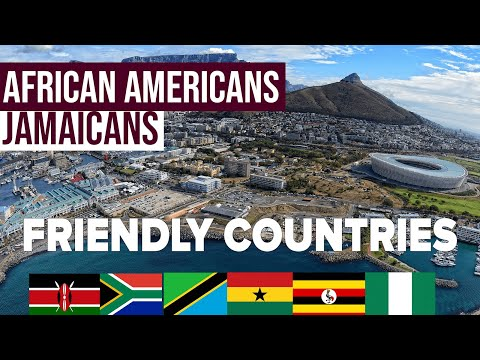 10 African Countries where BLACK Americans, can RELOCATE to