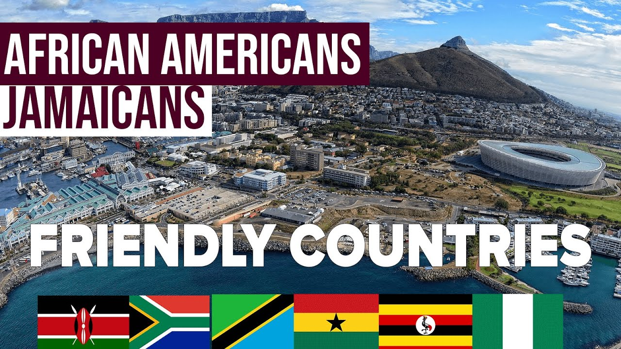 10 African Countries where BLACK Americans, can RELOCATE to & Start a New Life