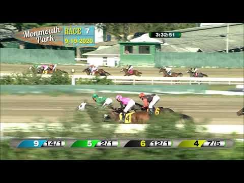video thumbnail for MONMOUTH PARK 09-19-20 RACE 7