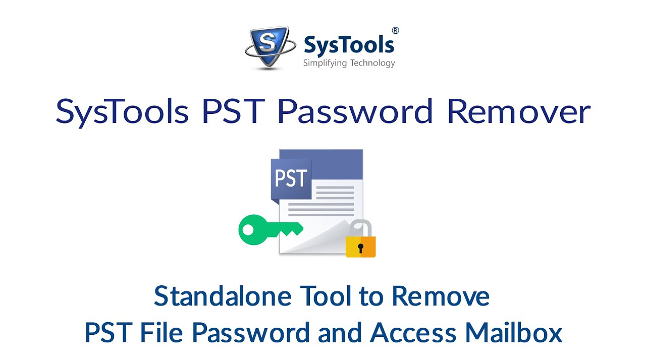 Remove Password from PST Files - TECH Queries