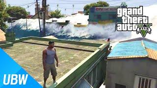 GTA 5 쓰나미 모드 - GTA 5 Mod Showcase: Tsunami Mod
