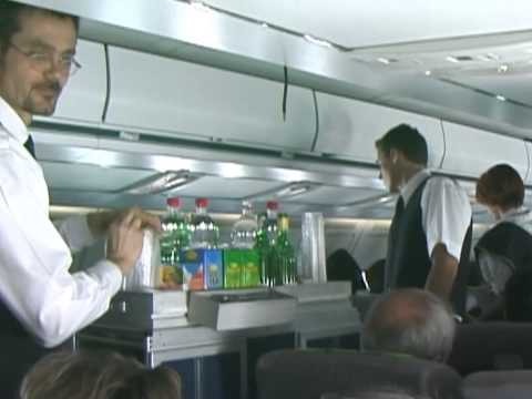 THE SIGHT & THE SOUND 3/7 : Malev TU-154 HA-LCV inflight documentary from Budapest to Moscow