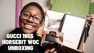 GUCCI HORSEBIT 1955 WALLET WITH CHAIN UNBOXING | WHERE'S WEEWOO