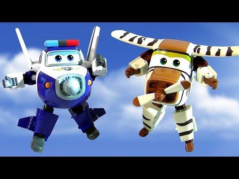 Super Wings Robocop Transforming Planes Toys dCBxroeW