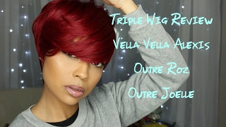 Triple Wig Review: Vella Vella Alexis, Outre Joelle, and Outre Roz