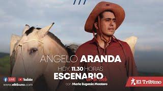Escenario en la Web | Hoy en vivo Angelo Aranda