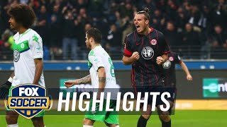 Marco Fabian run sets up Meier last minute winner for Frankfurt | 2015–16 Bundesliga Highlights